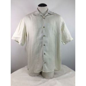 Tommy Bahama Men's Button Front Dressy Casual 100%